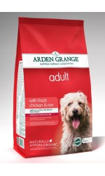 Arden Grange ADULT DOG with Chicken and Rice **2kg, 6kg & 12kg Out of Stock**