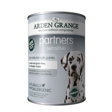 Arden Grange PARTNERS SENSITIVE, fresh white fish and potatoes