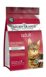 NEW - Arden Grange  ADULT CAT with Fresh Chicken and Potato - grain free recipe **2kg & 4kg Sold Out**